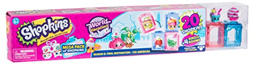 Shopkins – Mega Pack Amerika – Modelle zufällig ausgewählt, HPKA6