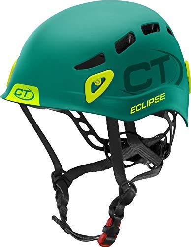 Climbing Technology Eclipse Helm, Dunkelgrün/Grün, 48-56 cm