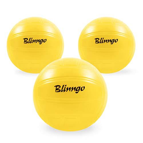 Mookis Blinngo Professional Ball Perfekt für Blinngoball oder andere runde Netzspiele im 3er-Pack