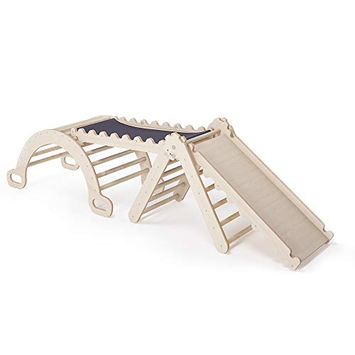 MAMOI Pikler Dreieck v.2 für Kinder Modernes | Klettergerüst Indoor minimalistisches Design |...