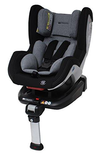 Osann 101-108-231 Kindersitz Fox Gruppe 0+/1 (bis 18 kg) Kinderautositz Schwarz Melange