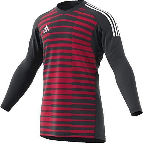 adidas Kinder AdiPro 18 Goalkeeper Jersey Longsleeve Torwarttrikot, Dark Grey/Unity pink/White, 152
