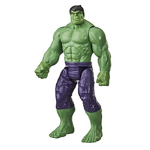Marvel Avengers Titan Hero Series Blast Gear Deluxe Hulk Action-Figur, 30 cm Spielzeug, inspiriert von...