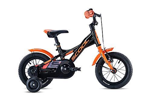 S'Cool XXlite Alloy 12R 1S Kinder Fahrrad (12', Schwarz/Orange)