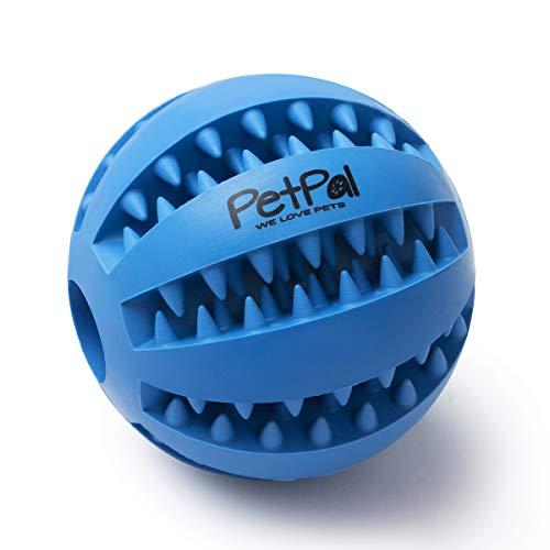 PetPäl Hundeball mit Zahnpflege-Funktion Noppen Hundespielzeug aus Naturkautschuk - RobusterHunde Ball...