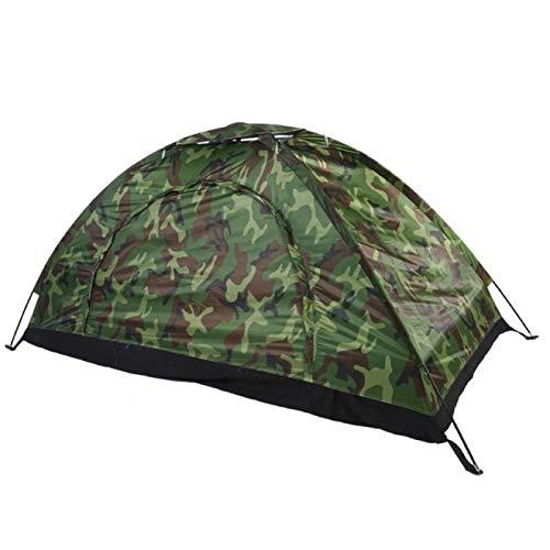 YFFSBBGSDK Camping Zelt 1 4 Personen Tragbares Outdoor Camping Zelt Camouflage Strandzelt Wasserdichtes...