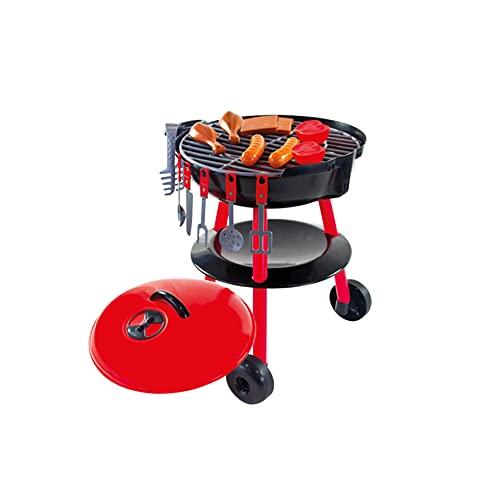 Woopie Barbecue Grill Kinder Kochen Küche Spielzeug Indoor Outdoor   Garten mit BBQ-Zubehör Kleinkinder...
