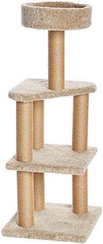 Amazon Basics Spielstation und Kratzbaum für Katzen - Large