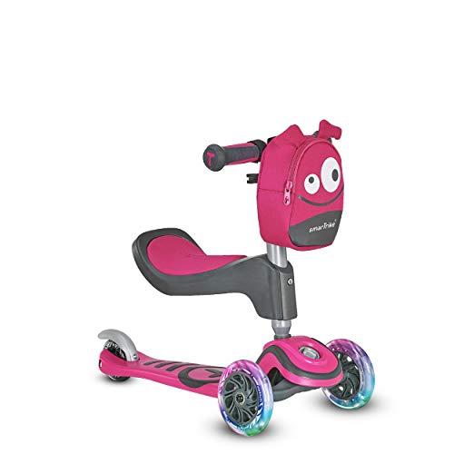 smarTrike® T1 3-Stufen-Scooter 2020214, Rosa