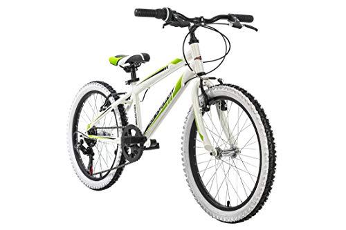Kinderfahrrad Mountainbike 20' Scrawler weiß RH 28 cm KS Cyling