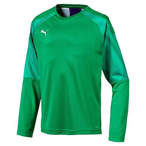 PUMA Cup GK Jersey LS Jr Torwarttrikot, Bright Green-Prism Violet, 140