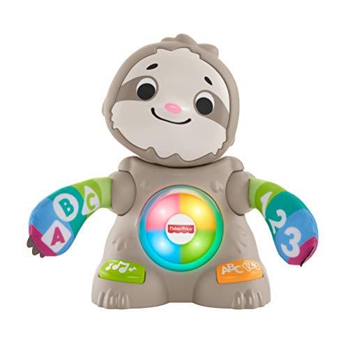 Fisher-Price BlinkiLinkis Faultier, deutschsprachig, musikalisches babyspielzeug für Babys und...