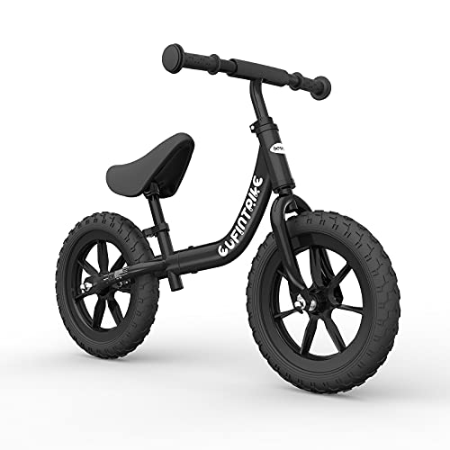besrey Laufrad 12 Zoll Lenker und Sitzhöhe sind verstellbar für Kinder über 3 Jahre geeignet...