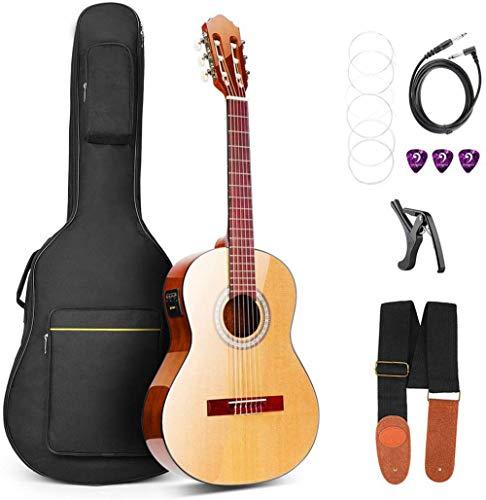 Vangoa 3/4 Konzertgitarre 2-Band-EQ 36' Elektrische Akustische Klassische Gitarre Nylon 6 Saiten für...