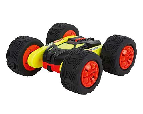 Carrera RC Turnator - Glow in the Dark – Ferngesteuertes, elektrisches Spielzeugauto – 360° Flip...