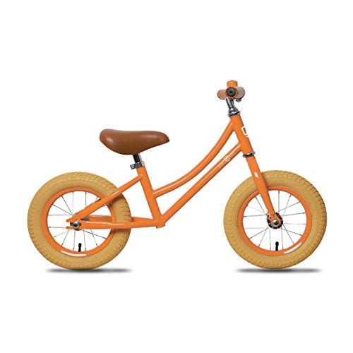 Rebel Kidz Unisex Jugend Lernlaufrad-3096042400 Lernlaufrad, Orange, 12,5'