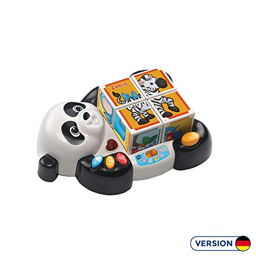 Vtech 80-193404 Pandas Blockpuzzle Babyspielzeug, Mehrfarbig