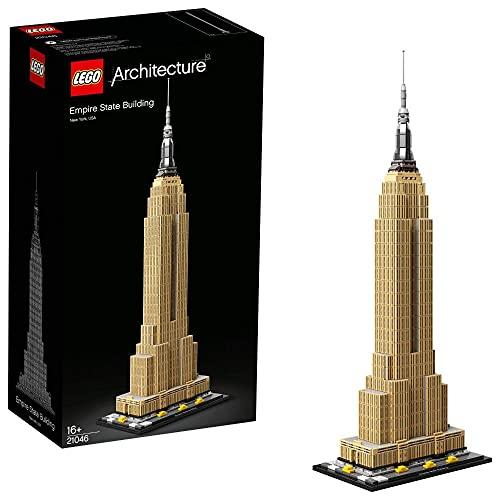 LEGO 21046 Architecture Empire State Building, Wahrzeichen von New York, Bauset für Jugendliche und...