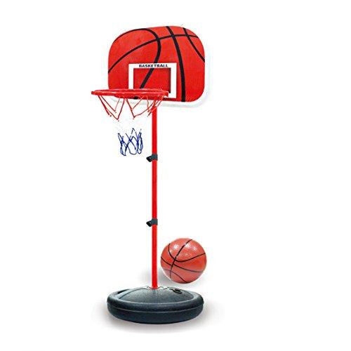 MRKE Basketballkorb Kinder, 63-150 cm Kinder Basketballständer Verstellbar Basketball Korb Spiel Set...