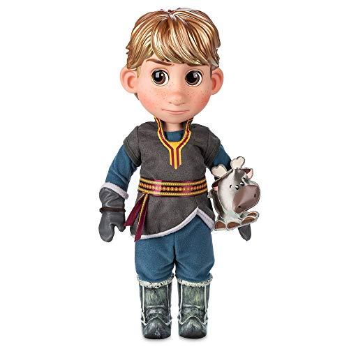 Disney Store Kristoff Animator Kleinkind-Puppe – Die Eiskönigin 39 cm mit geformten Haaren, Outfit,...