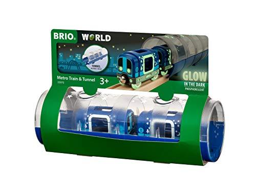 BRIO 33970 Tunnel Box U-Bahn Glow in The Dark