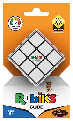 ThinkFun 76394 Rubik's Cube, der original Zauberwürfel 3x3 von Rubik's - Verbesserte, leichtgängigere...