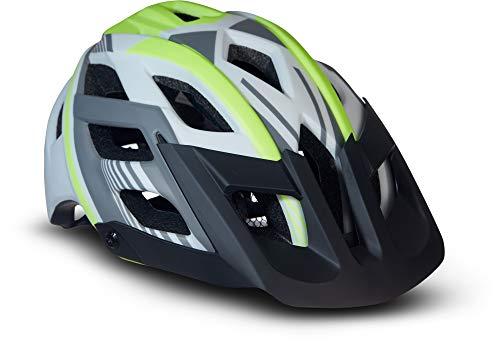 Moto Helmets® Fahrradhelm Unisex für Erwachsene & Jugendliche in Neon Größe M, leicht zu öffnen und...