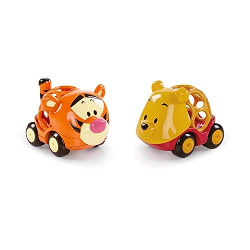 Bright Starts, Disney Baby, Winnie Puuh Go Grippers Autos aus robustem, leicht greifbarem Material,...
