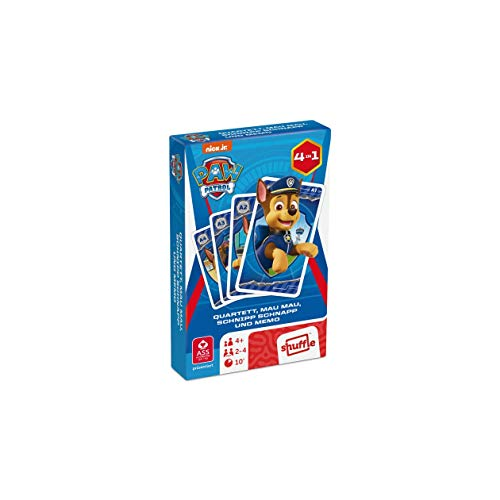 ASS 108332924 Altenburger 22583134 - Paw Patrol - Quartett, Kartenspiel