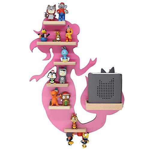 BOARTI Meerjungfrau Kinder Regal small in Pink - geeignet für die Toniebox und ca. 23 Tonies - zum...