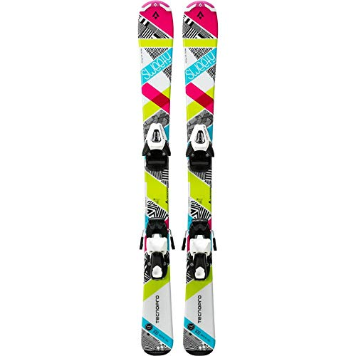 Ski-Set Sweety Jr. NTC45/NTL75 WEISS/PINK/TÜRKIS 90