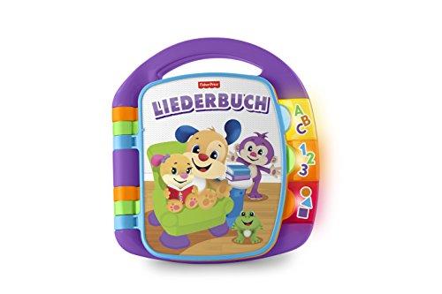 Fisher-Price FRC68 Lernspaß Liederbuch Lernspielzeug für Buchstaben Zahlen und Formen, ab 6 Monaten...