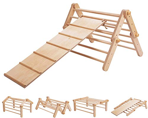 Modifiable Pikler triangle Mopitri, climbing triangle, Kletterdreieck, Pikler-Dreieck WITH A CLIMBING /...