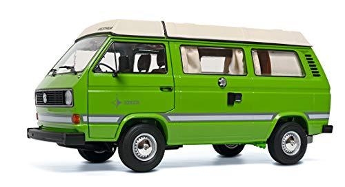Schuco 450038800 VW T3a Joker, Westfalia Camper mit beweglichem Dach, Modellauto, Maßstab 1:18, Limited...