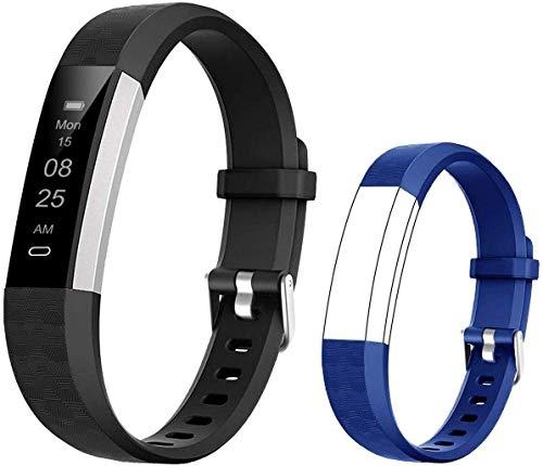 BIGGERFIVE Fitness Armband für Kinder, Schrittzähler Uhr Fitness Tracker mit Kalorienzähler und...