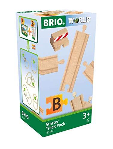 BRIO Bahn 33394 - Schienen Starter Pack B