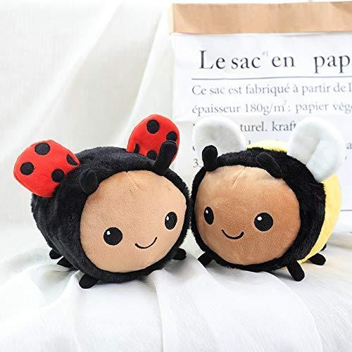 Fuzzy Bumblebee Marienkäfer Teddy Insekt angefüllt Spielzeug Biene Marienkäfer Weiche Puppe Spielzeug...