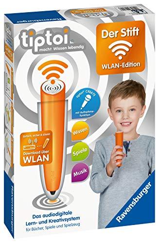 Ravensburger tiptoi 00036 Der Stift - WLAN Edition - Das audiodigitale Lern- und Kreativsystem für...