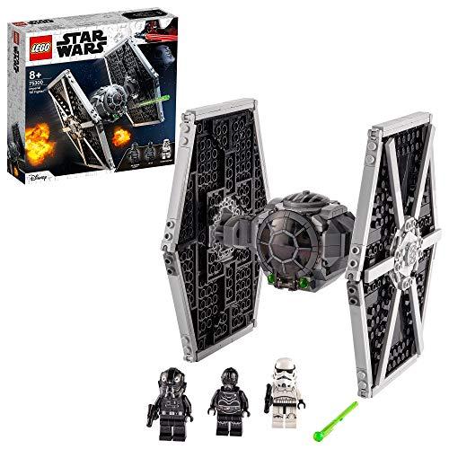 LEGO 75300 Star Wars Imperial TIE Fighter Spielzeug mit Sturmtruppler und Piloten als Minifiguren aus der...