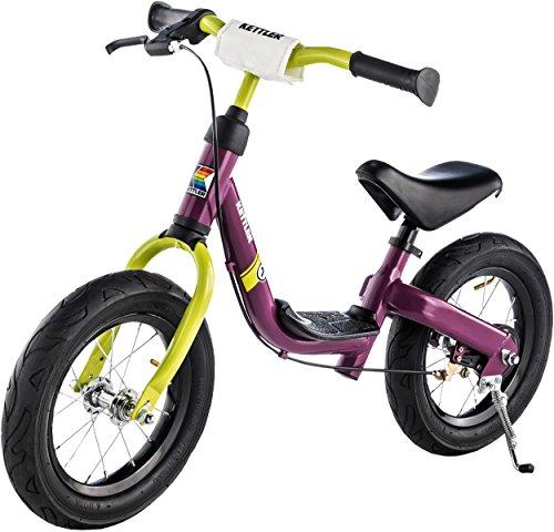Kettler Laufrad RUN AIR GIRL 12,5 Zoll (Lauffahrrad für Kinder 3 – 5 Jahre; 92 x 59 x 42 cm;...
