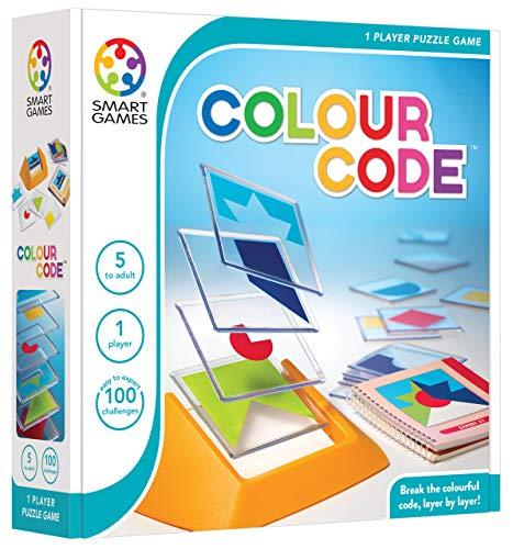 Smart Games 81115 113467 SG 090-Color Code, Multicolor