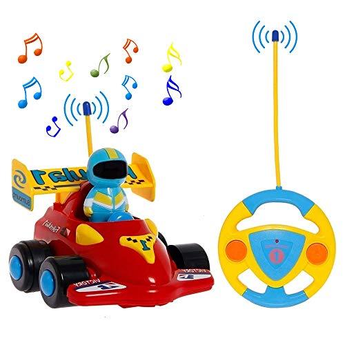 PowerLead RC Cartoon-Rennauto Action-Figur, ferngesteuertes Spielzeug mit Musik, tolles Geschenk für...