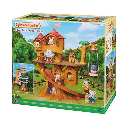 Sylvanian Families 5494 Abenteuer Baumhaus - Puppenhaus Spielset