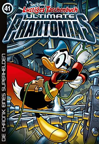 Lustiges Taschenbuch Ultimate Phantomias 41: Die Chronik eines Superhelden