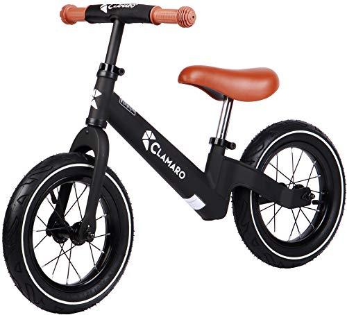 Clamaro 'Roadstar' 12' Kinder Laufrad ab 1 Jahr für Jungen und Mädchen, Balance Lauflernrad mit...