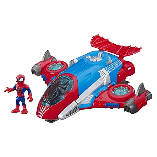 Playskool Heroes Marvel Super Hero Adventures Spider-Man Jet-Quartier