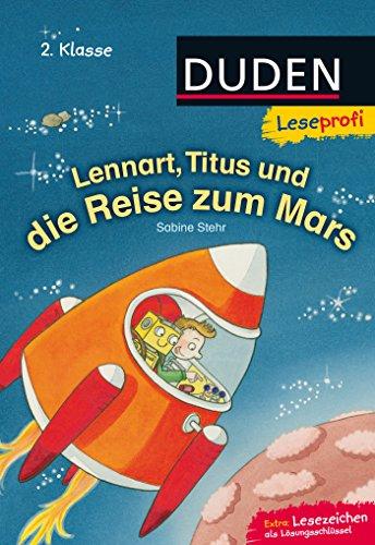 Duden Leseprofi – Lennart, Titus und die Reise zum Mars