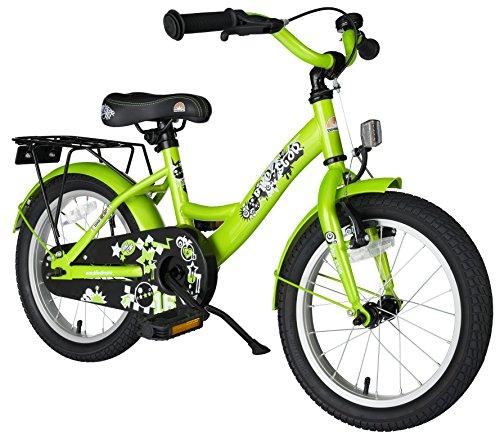 BIKESTAR Premium Sicherheits Kinderfahrrad 16 Zoll für Jungen und Mädchen ab 4-5 Jahre | 16er Kinderrad...