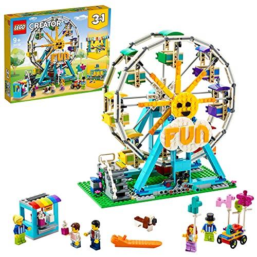 LEGO 31119 Creator Riesenrad Konstruktionsspielzeug, Freizeitpark, Spielzeug für Jungen und Mädchen ab...