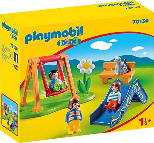 Playmobil 70130 1.2.3 Kinderspielplatz, ab 18 Monaten, bunt, one Size